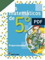 5 - LM5 proporcionalidad
