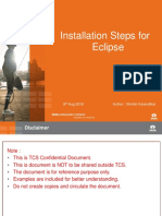 Installation of Eclipse