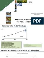 MME. 1 Modelo de Análise de Metas de Redução de Emissões