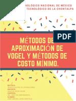 Lopezmontejo_joseadrian_métodos de Aproximación de Vogel y Métodos de Costo Mínimo.