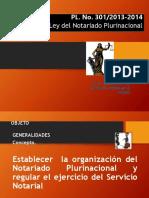 Presentacion Ley Notarial Comision Diputados