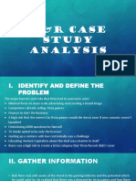 r&r Case Study Analysis