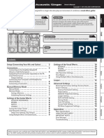 VE-8 Roland Acoustic Chorus Manual