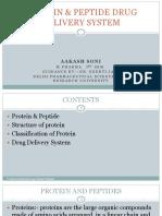 Protein & Peptide Drug Delivery System