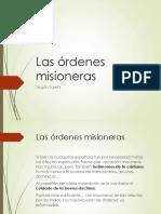 Las órdenes misioneras.pptx