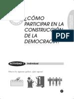 Taller de Democracia - La Participacion