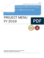project menu AM