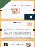 1ra Clase Odontologia y Especialidades
