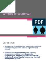 Ppt Patobio Metabolic Syndrome Dr Tini