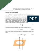 Física - B2 24 Força entre duas correntes paralelas