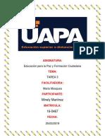 Tarea 3 de Educacion Para La Paz de Minely