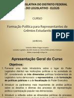 Curso Grêmios 2014