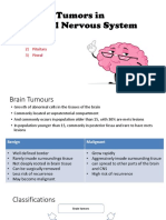 Tumors in CNS