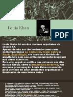 Apresentação Louis Khan