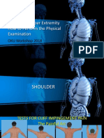 Physical Examination in Upper Limb Pain