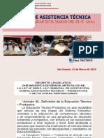 Asistencia Tecnica Cetpro Calidad 2019