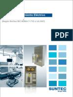 Catalogo de Tableros de Aislamiento Para Uso Hospitalario