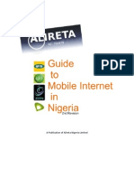 Guide to Mobile Internet in Nigeria