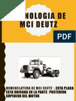 Tecnologia de Mci Deutz