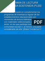 PROGRAMA DE LECTURA SILENCIOSA SOSTENIDA (PLSS).ppt