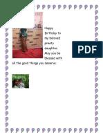 Happy Birthday to my beloved handsome beloved handsome daughter.docx