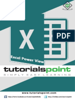 Excel Power View Tutorial