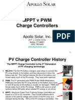 Apollo Solar MPPT v PWM Charge Controllers