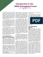 Debugging Using DWARF-2012