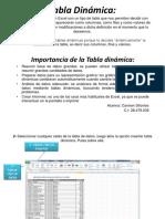 Tabla y Grafica Dinamica Informatica Aplicada 1