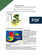 Características de los Recursos de Guatemala.docx