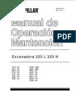 Excavadora CAT 325L.pdf