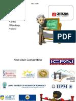 Integrated marketing Communication Plan-Chitkara Iniversity