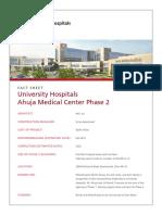 Ahuja Phase 2 Fact Sheet