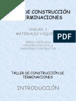 2.- MATERIALES Y EQUIPOS. TERMINACIONES 2015 (1).pptx