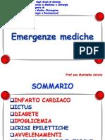EMERGENZE mediche