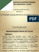 Curso Ed Política Cidadania e Poder Legislativo No DF
