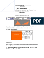 RESOLUCIÓN DE TRIANGULOS NO RECTÁNGULOS CON TEOREMA DEL SENO Y COSENO.docx