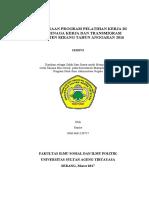 PERENCANAAN PROGRAM PELATIHAN KERJA DI DINAS TENAGA KERJA DAN TRANSMIGRASI KABUPATEN SERANG TAHUN - Copy.pdf