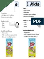 Ficha Que Es Un Afiche
