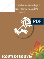Cuadernillo Insignia de Madera III