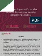 CPM Mecanismo Def y Periodistas, 25mar19
