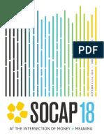 SOCAP18 Program