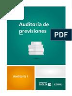 16-Auditoría de Previsiones