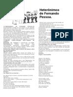 Heterônimos de Fernando Pessoa