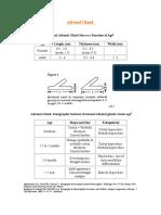 Parametros de Medidas Pediatricas