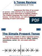 Verb Tenses Review