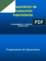 C11 Planeamiento de Producción Intermitente