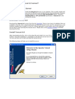 Apache Tomcat 6.0 Installation