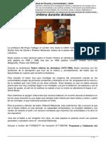 análisis del teatro chileno en dictadura