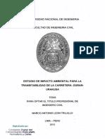 tesis estudio de impacto ambiental para la transitabilidad de la carretera Duran Urankusa